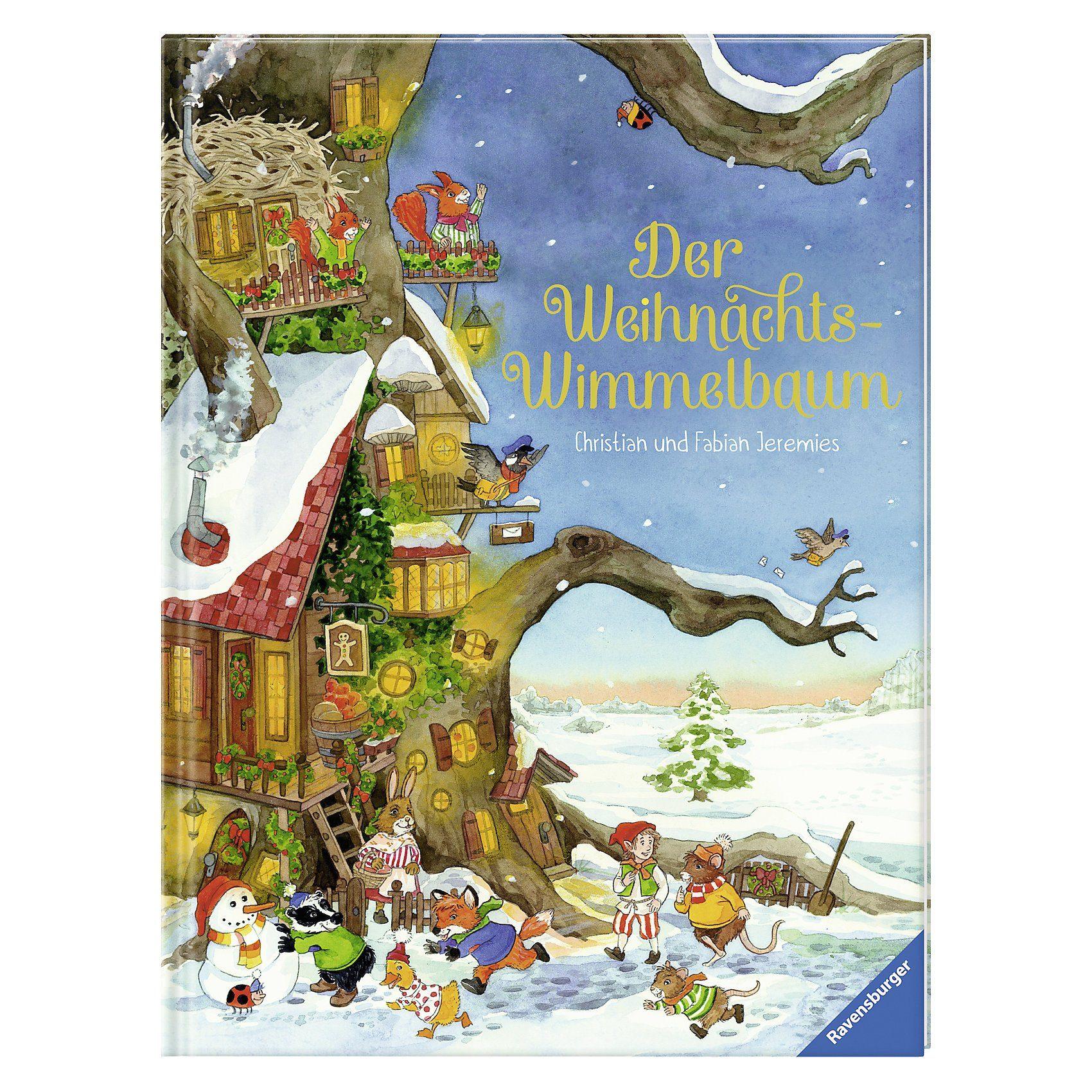 Ravensburger Der Weihnachts-Wimmelbaum