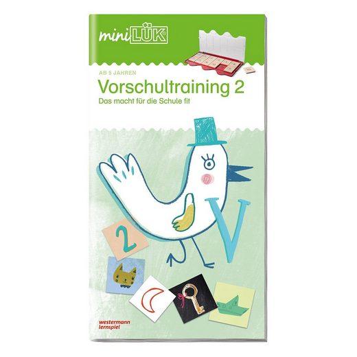 Westermann Verlag mini LÜK: Vorschultraining 2 - Das macht für die Schule fit!