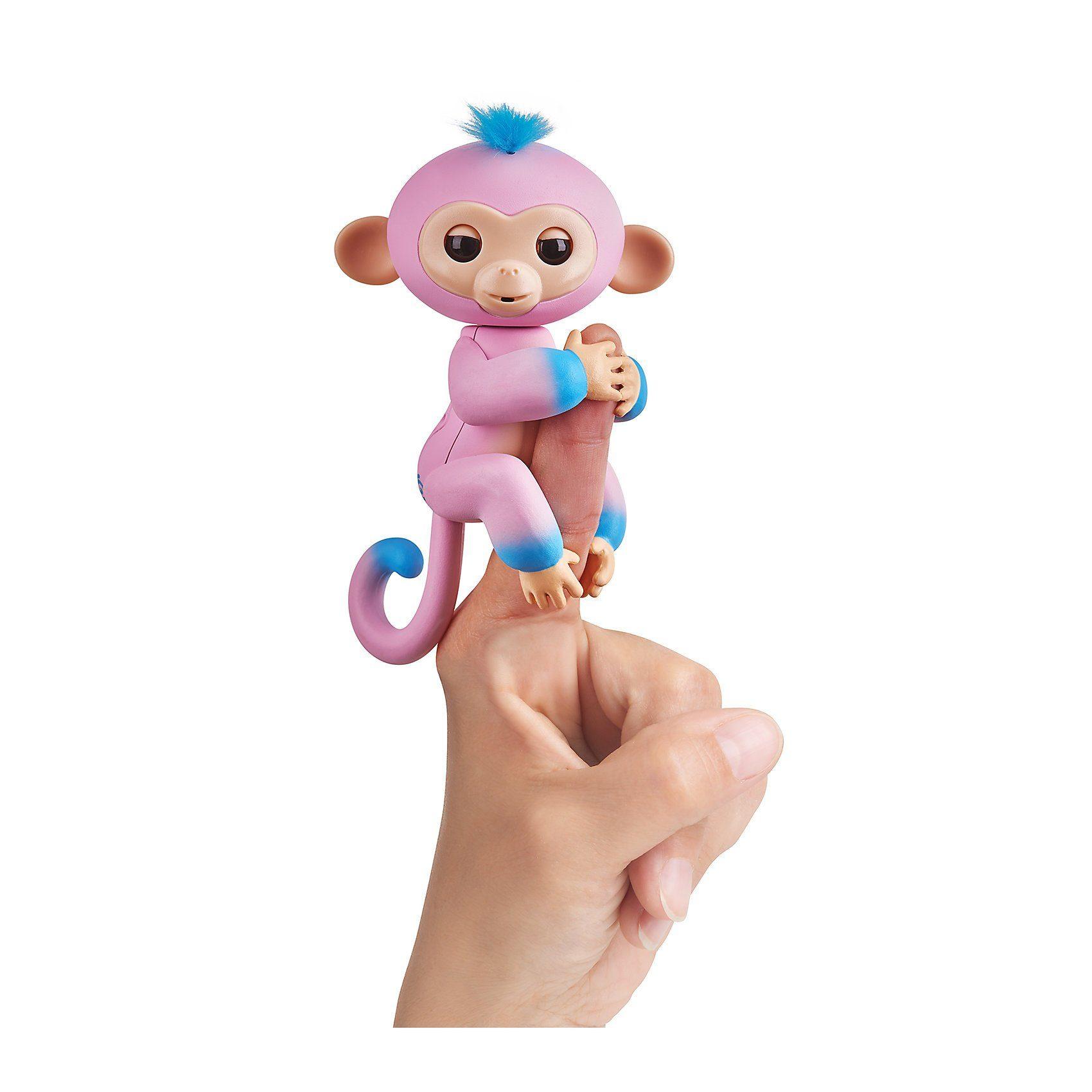 WowWee® - Fingerlings Äffchen 2farbig Candi pink & blau