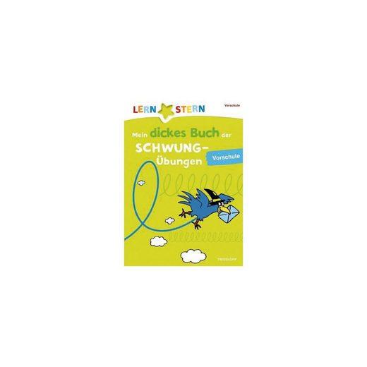 Tessloff Verlag LERNSTERN: Mein dickes Buch der Schwungübungen, Vorschule