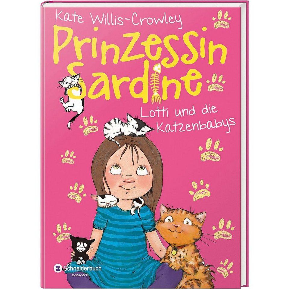 Egmont Prinzessin Sardine: Lotti und die Katzenbabys online kaufen