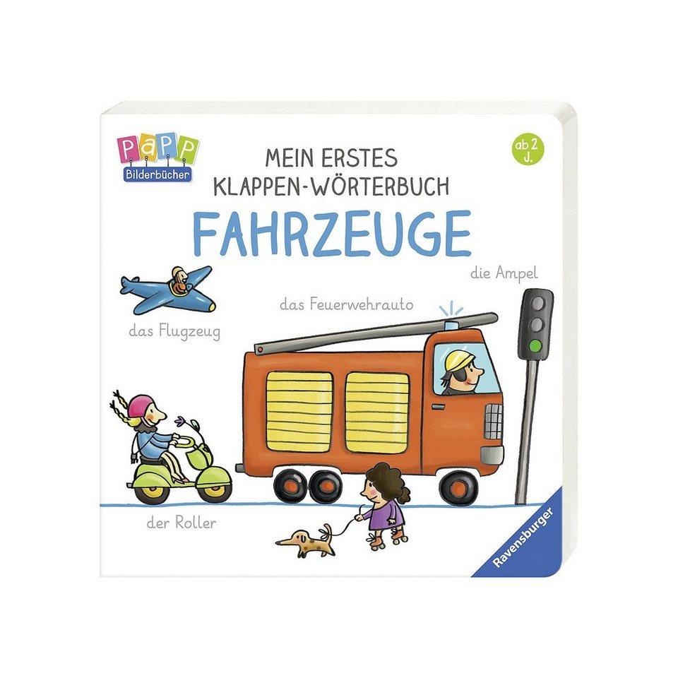 Ravensburger Mein erstes Klappen-Wörterbuch: Fahrzeuge online kaufen