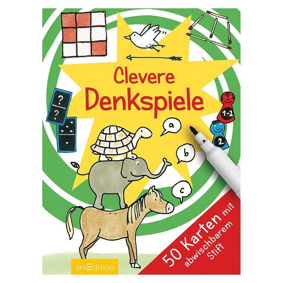 ArsEdition Verlag Clevere Denkspiele, 50 Karten