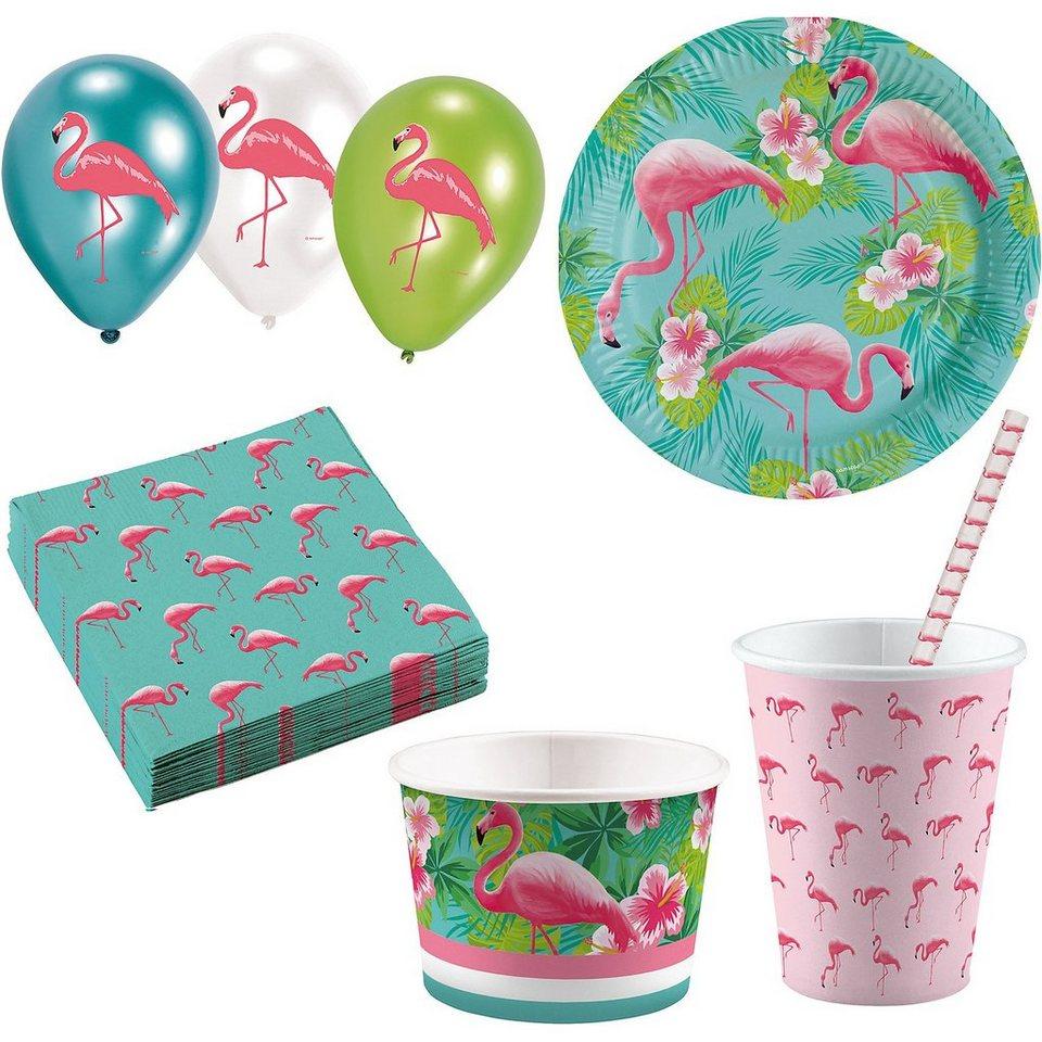 Amscan Partyset Flamingo, 63-tlg. online kaufen