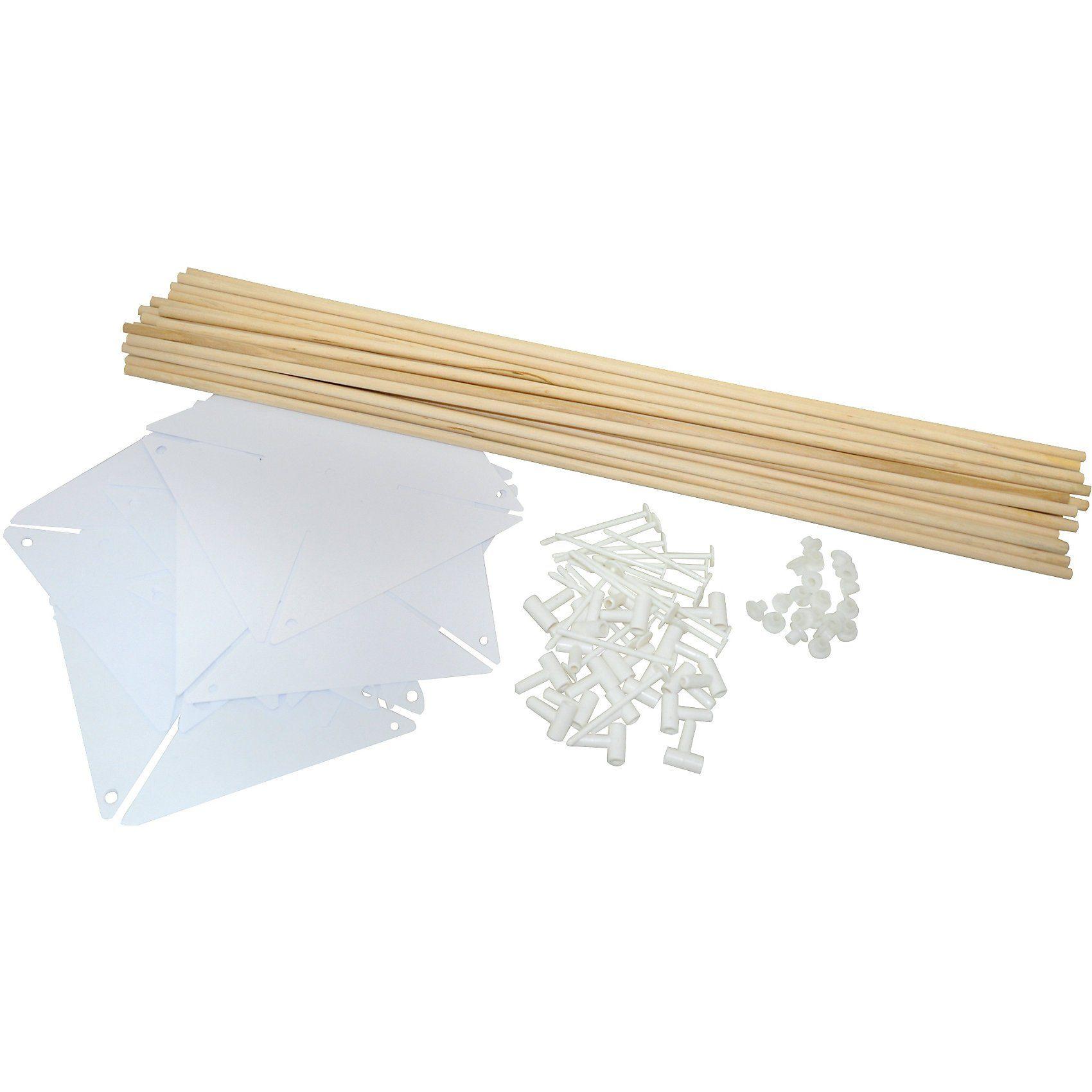 Playbox Bastelset Windmühlen, 20 Stück