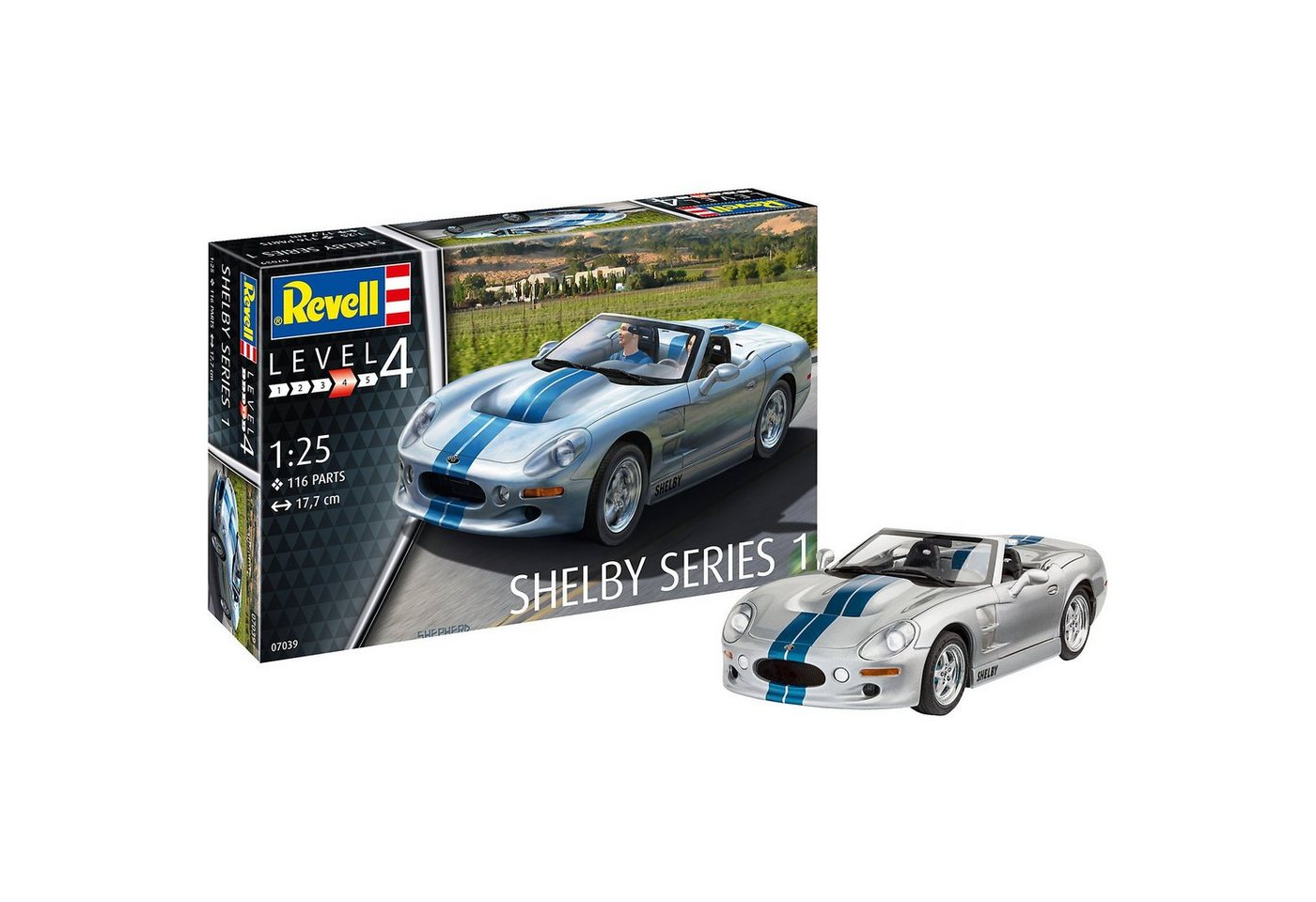 Revell® Modellbausatz Shelby Series I
