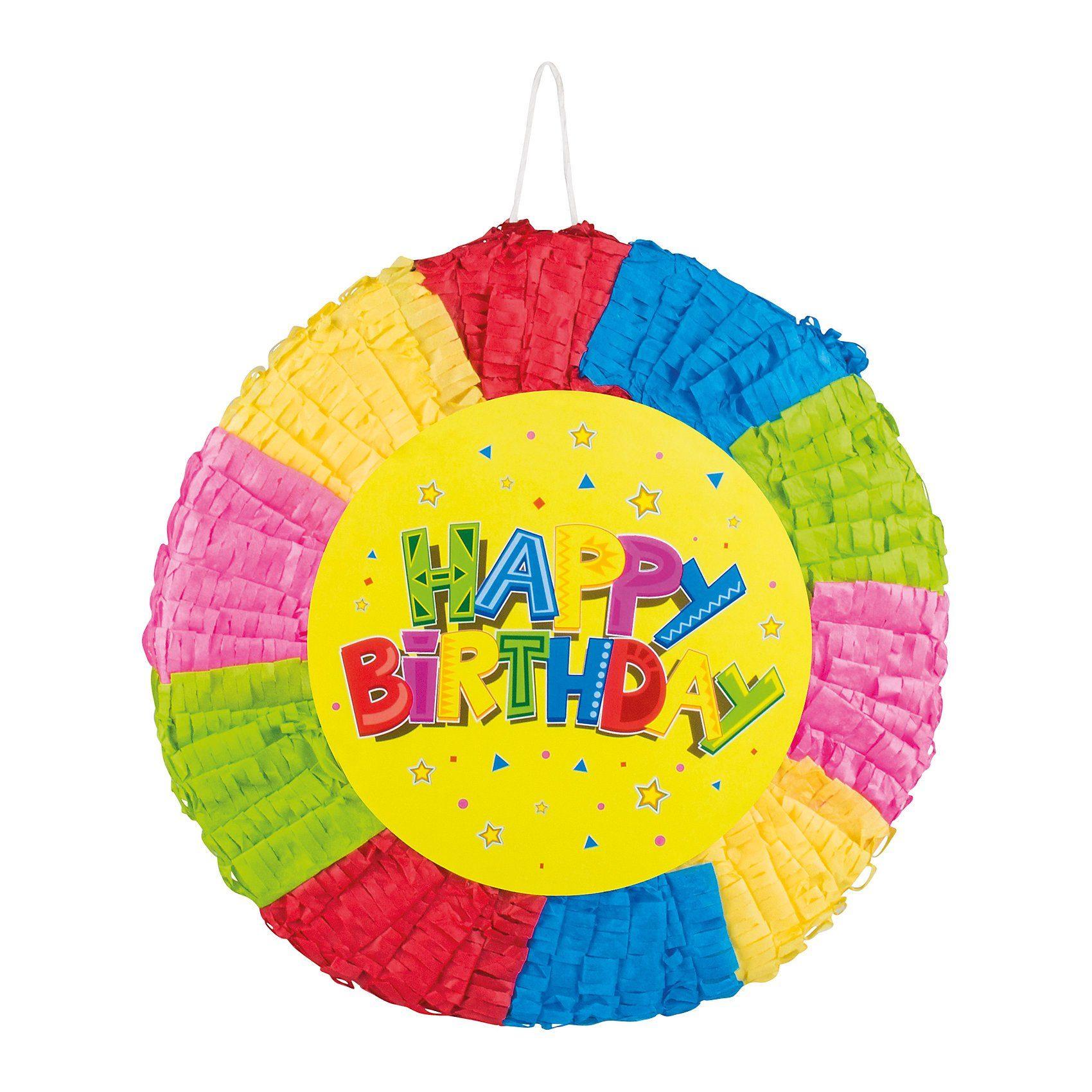 Pull-Pinata Happy Birthday