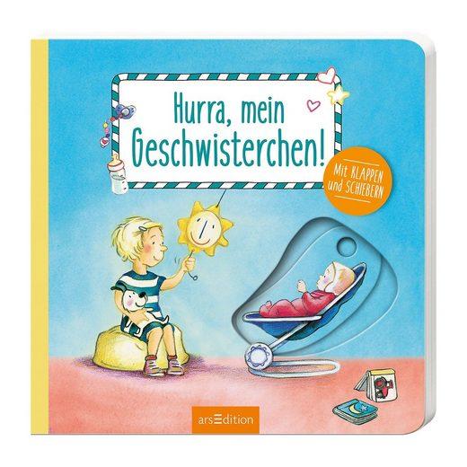 arsEdition Verlag Hurra, mein Geschwisterchen