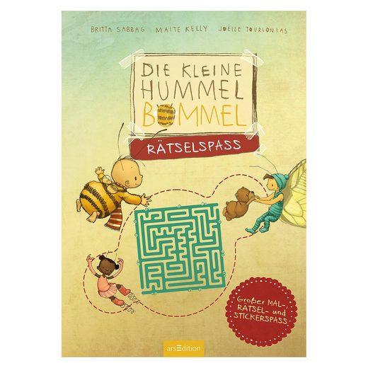 arsEdition Verlag Die kleine Hummel Bommel: Rätselspaß