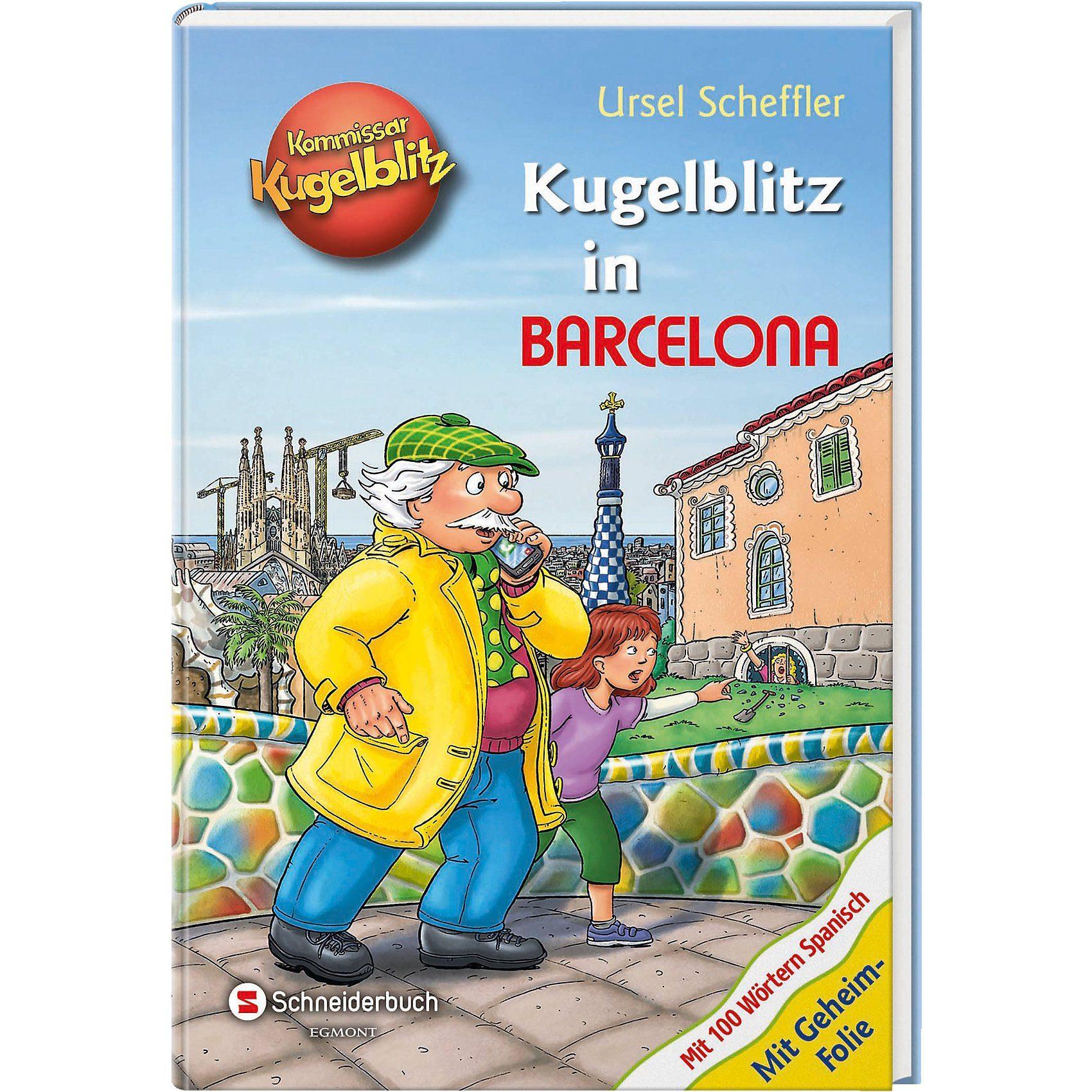 Egmont Kommissar Kugelblitz: Kugelblitz in Barcelona