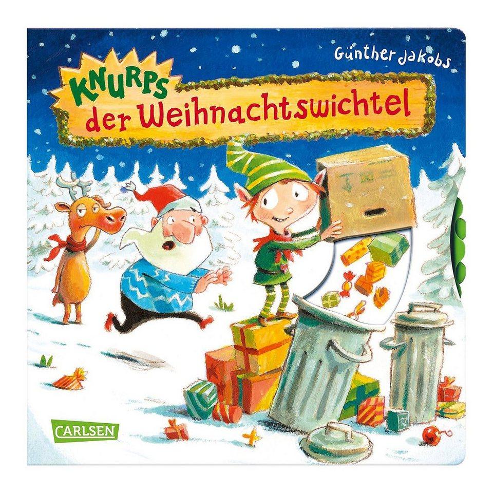Carlsen Verlag Knurps, der Weihnachtswichtel