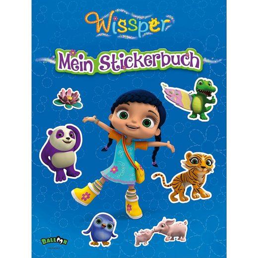 Egmont Wissper: Mein Stickerbuch