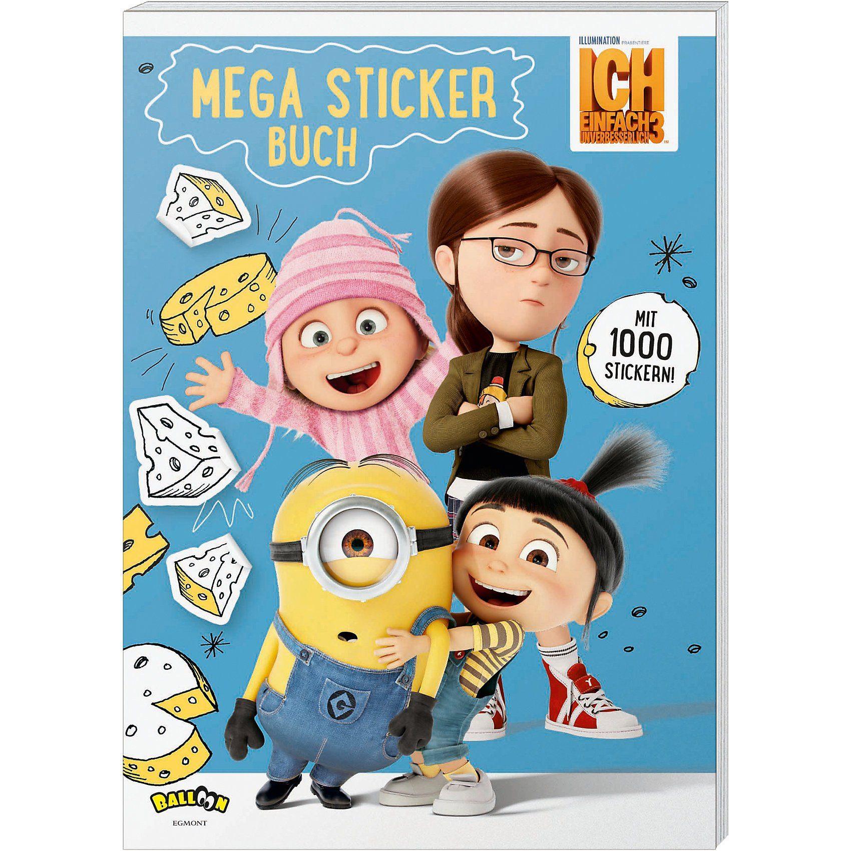 Egmont Ich einfach unverbesserlich 3: Mega Stickerbuch
