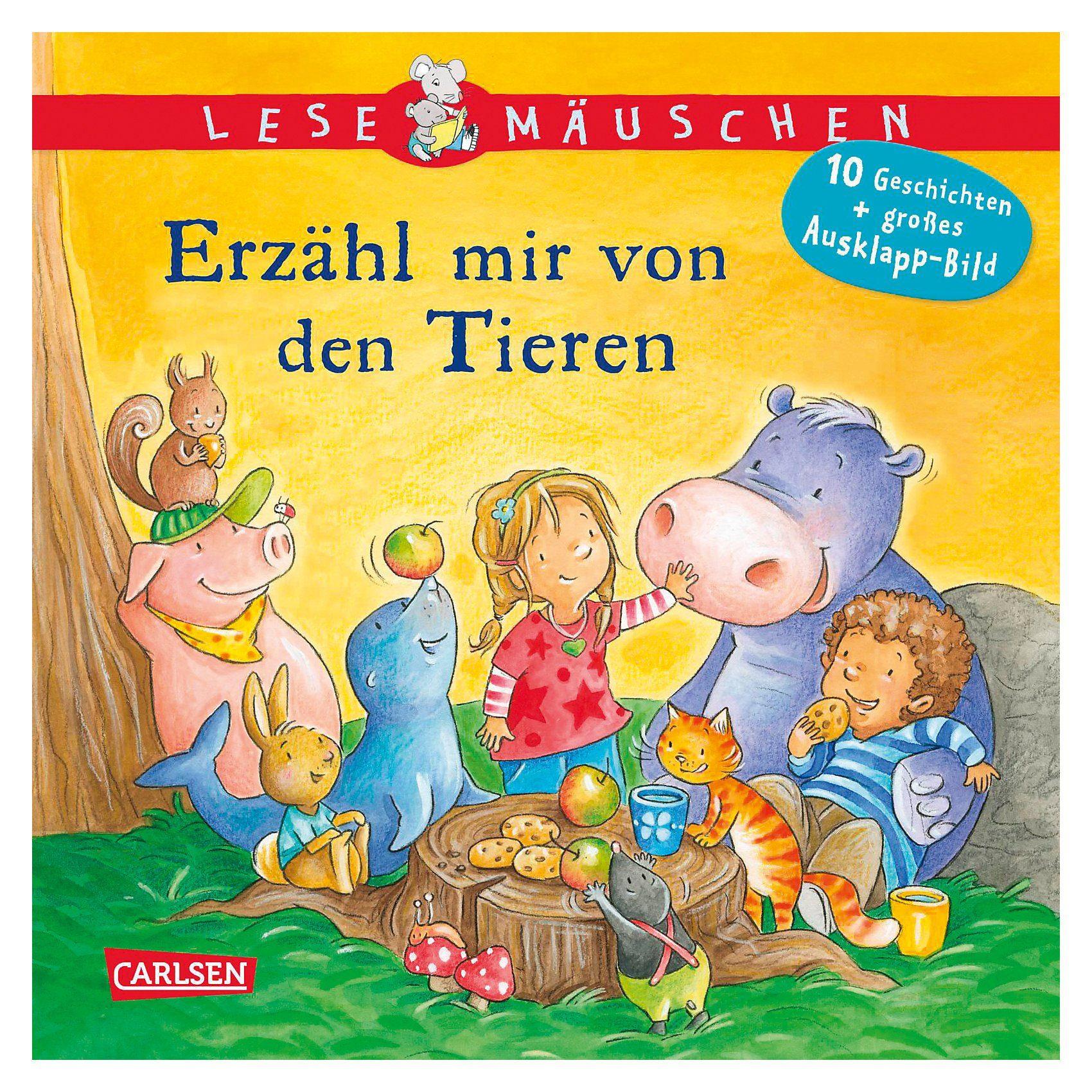 Carlsen Verlag Lesemäuschen: Erzähl mir von den Tieren