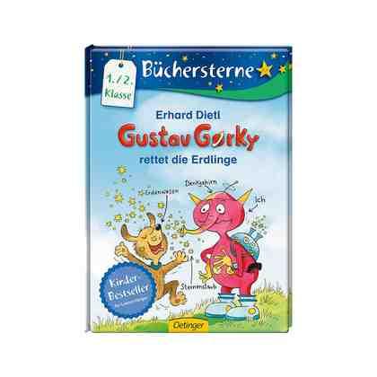 Oetinger Büchersterne: Gustav Gorky rettet die Erdlinge, 1./2. Klasse