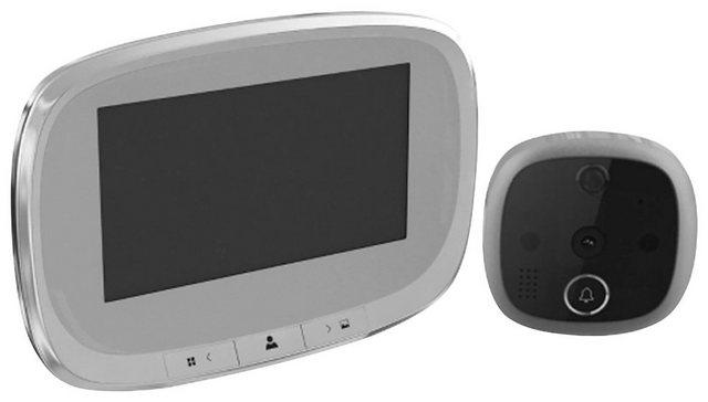 BASI »TS 810« Digitaler Türspion (Innenbereich, Weitsichtwinkel 120°, Integrierte Klingel mit Gong)