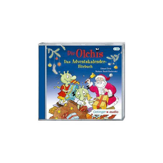 Oetinger Die Olchis - Adventskalenderhörbuch, 2 Audio-CDs