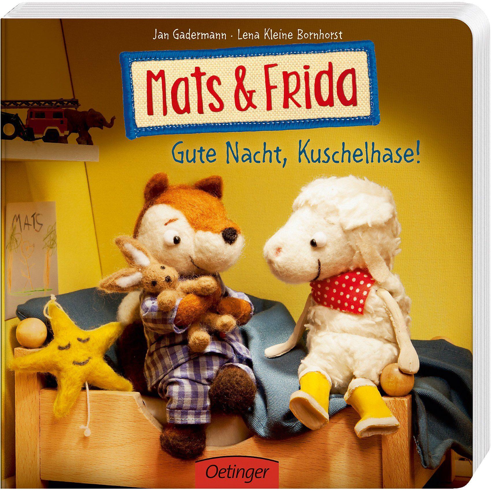 Oetinger Mats & Frida: Gute Nacht, Kuschelhase!