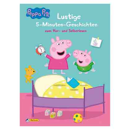 Carlsen Verlag Peppa Pig: Lustige 5-Minuten-Geschichten zum Vor- und Selber
