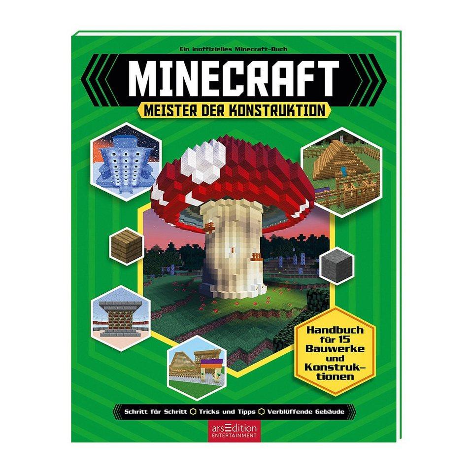 ArsEdition Verlag Minecraft: Meister der Konstruktion (Handbuch) online kaufen