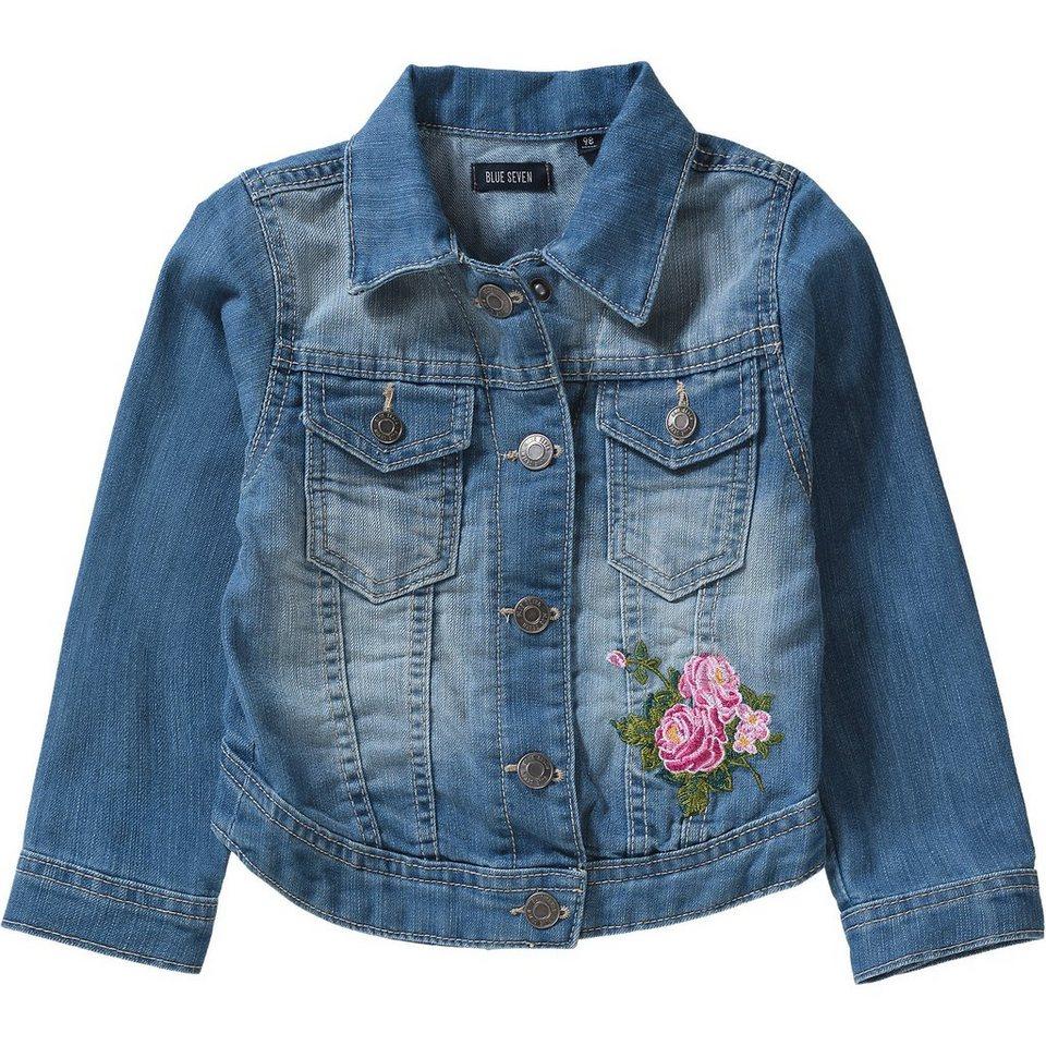 78975ecc3db2 Blue Seven Jeansjacke mit Blumen-Stickerei für Mädchen online kaufen ...