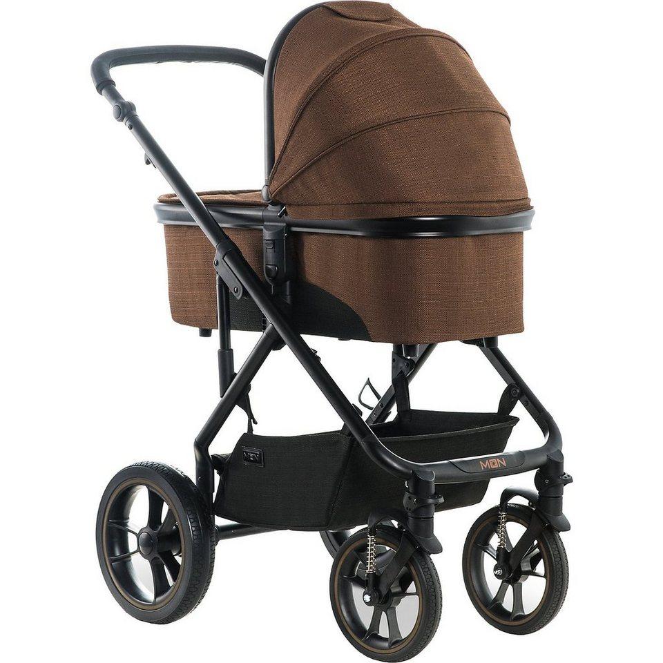Moon Kombi Kinderwagen Nuova, chocolate/structure, 2019 online kaufen
