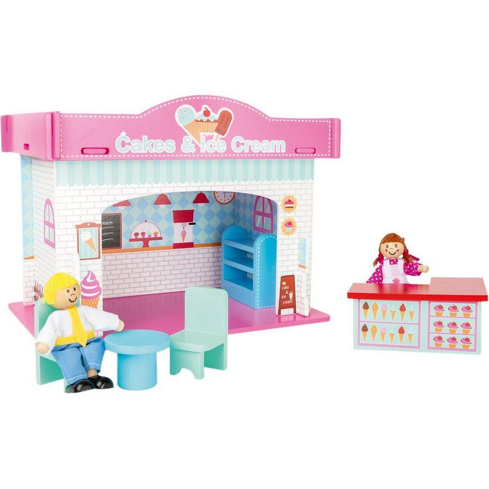 Small Foot Spielhaus Eisdiele mit Zubehör kaufen