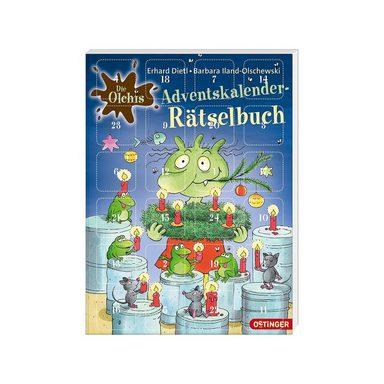 Oetinger Die Olchis: Adventskalender-Rätselbuch
