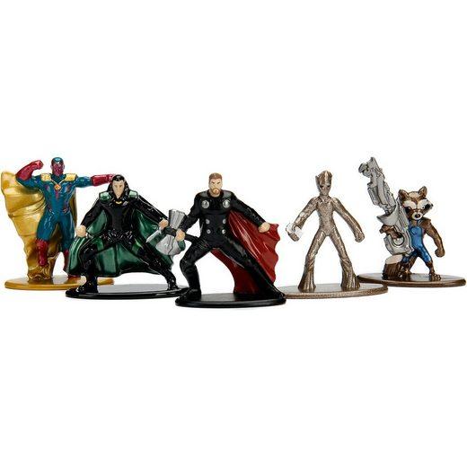 Jazwares NANO METALFIGS Marvel Avengers Infinity War 5er Figurenpac