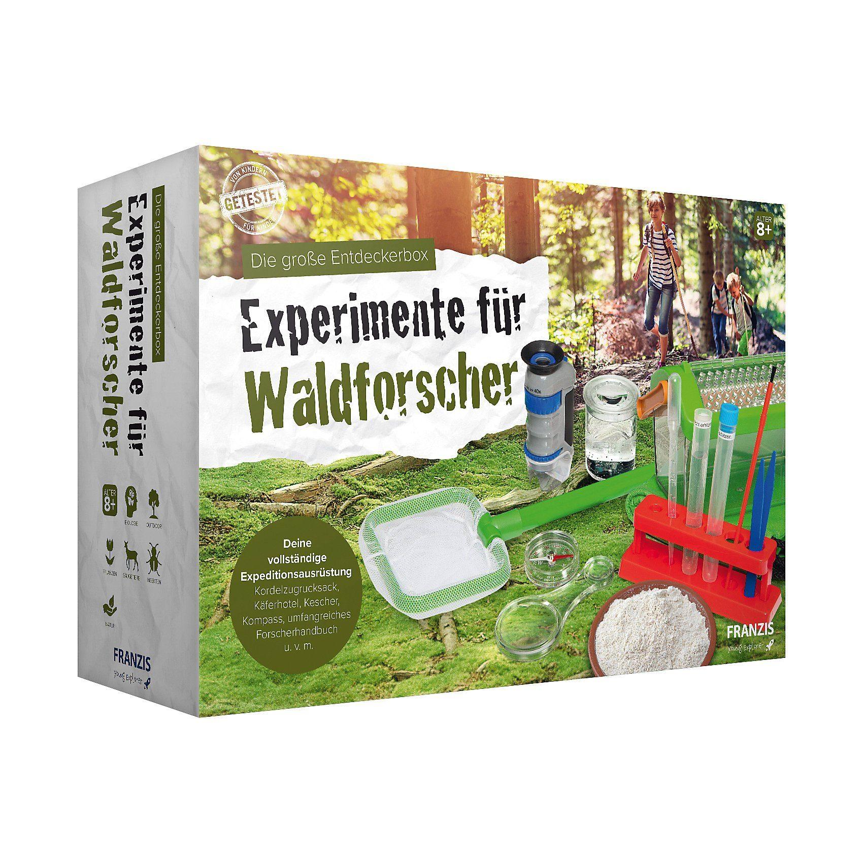 Franzis - Die große Entdeckerbox - Experimente für Waldforsc