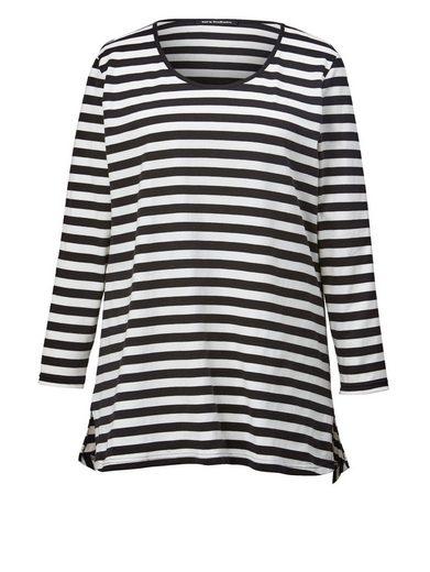 Sara Lindholm by Happy Size Longshirt gestreift
