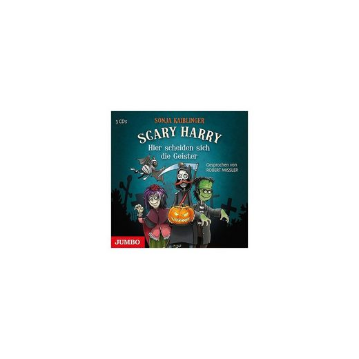 JUMBO Verlag Scary Harry: Hier scheiden sich die Geister, 3 Audio-CDs