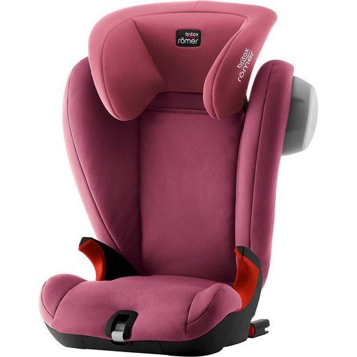 BRITAX RÖMER Auto-Kindersitz Kidfix SL Sict, Black Series, Wine Rose