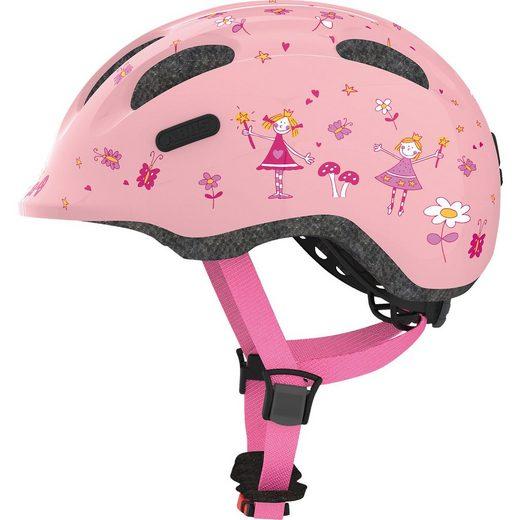 ABUS Fahrradhelm Smiley 2.0, rosa princess