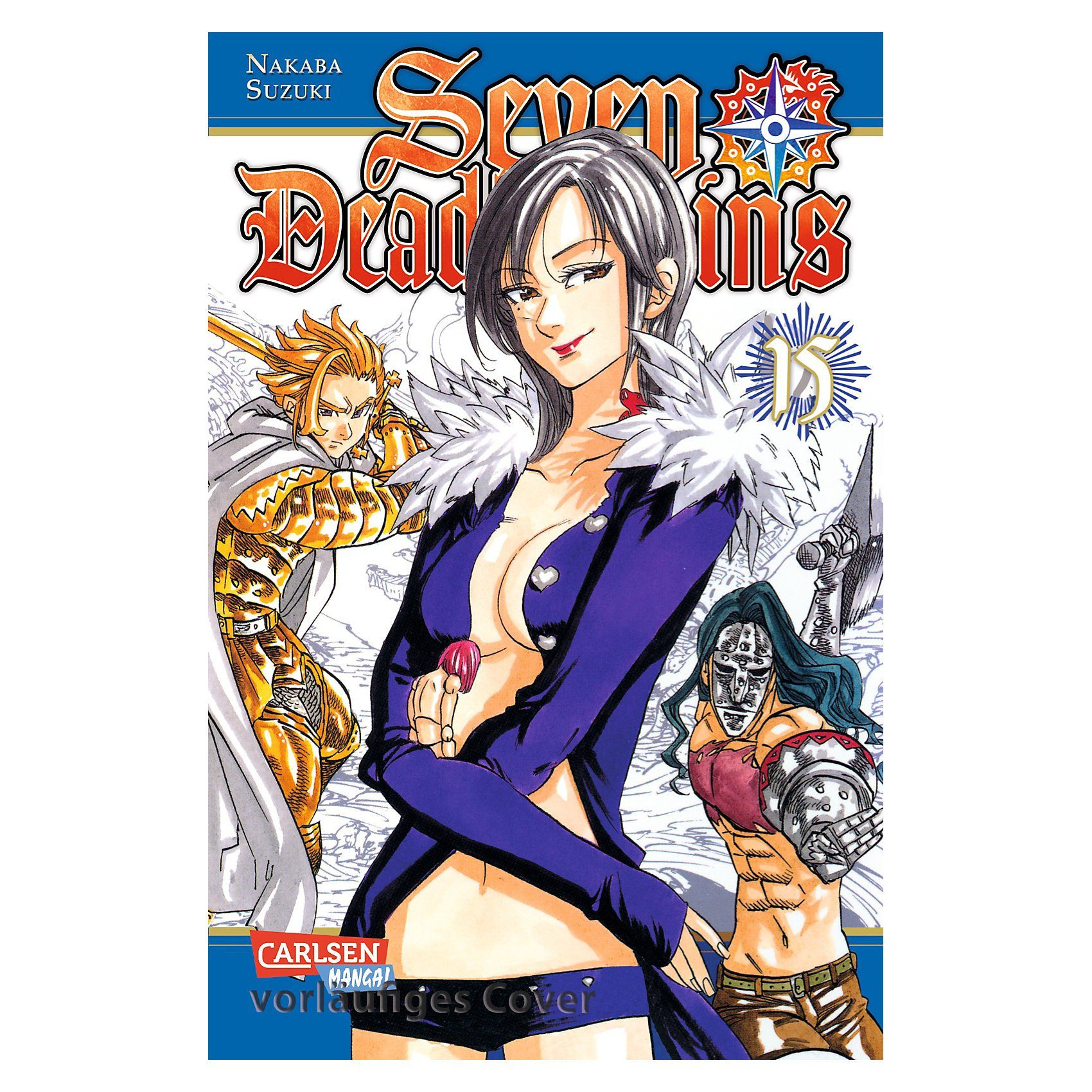 Carlsen Verlag Seven Deadly Sins, Band 15