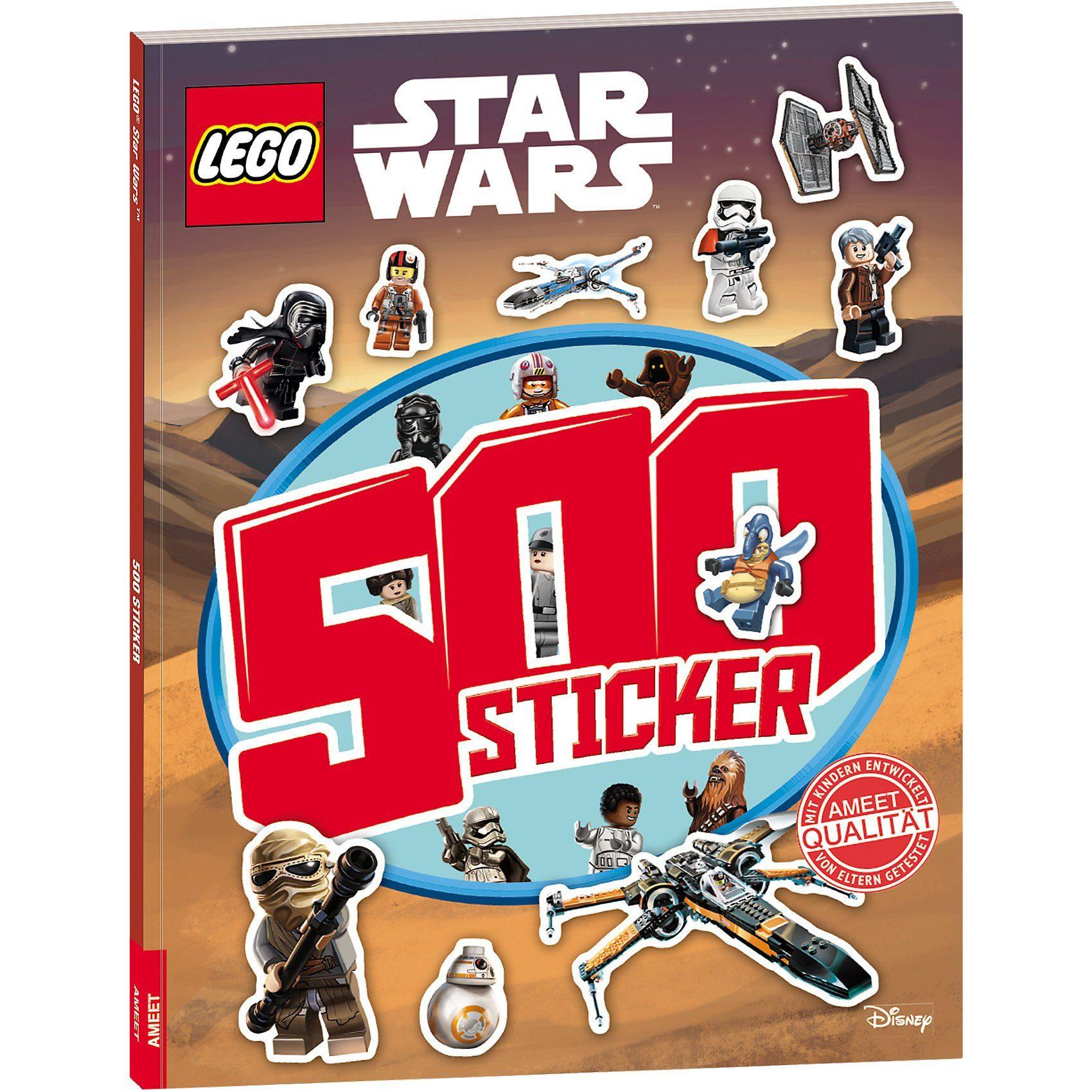 AMEET Verlag LEGO Star Wars: 500 Sticker