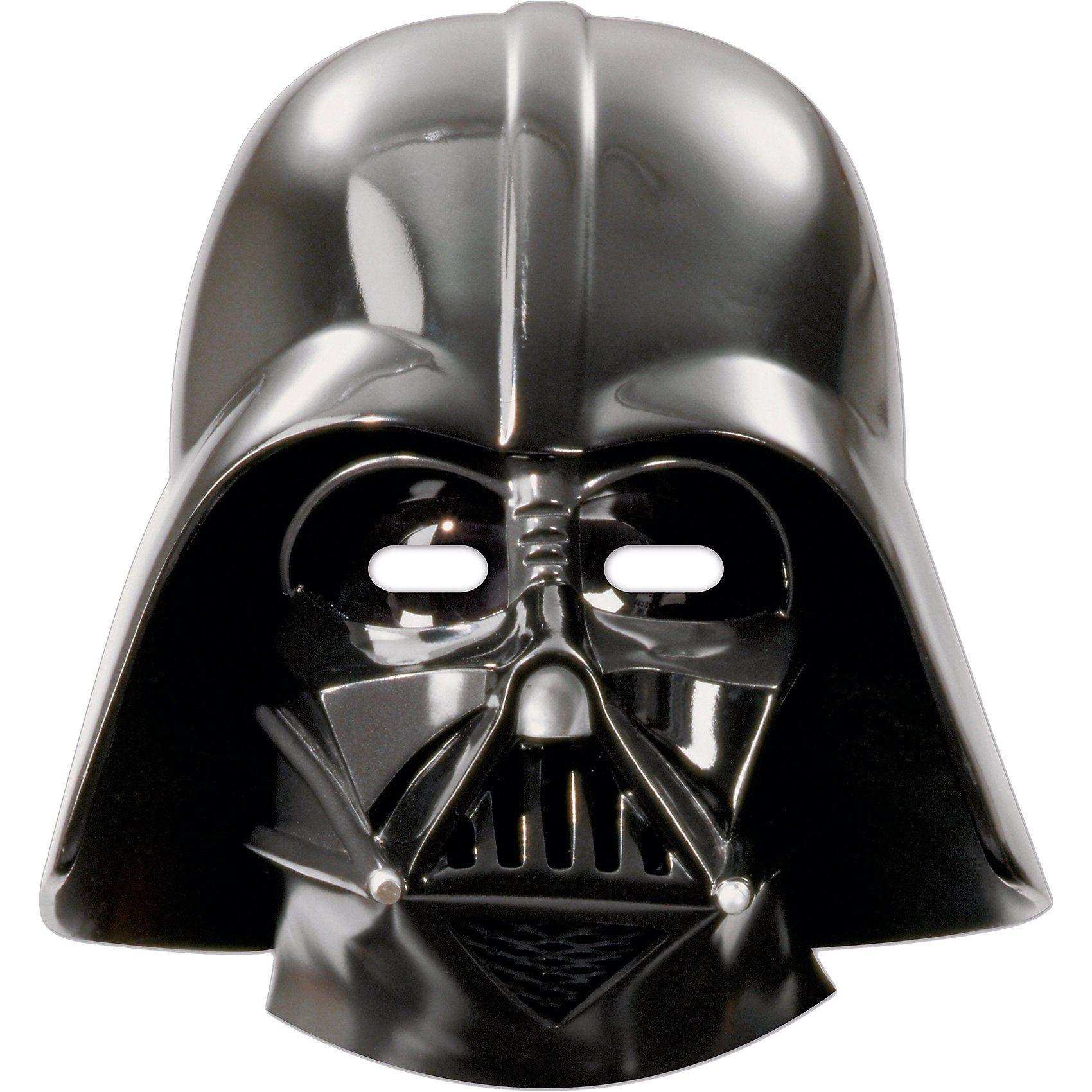 Procos Masken Darth Vader, 6 Stück