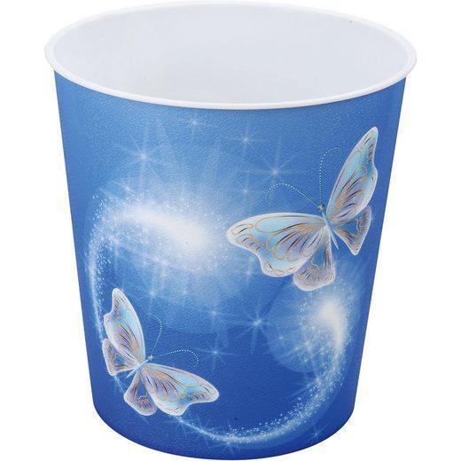 Idena Papierkorb Schmetterling