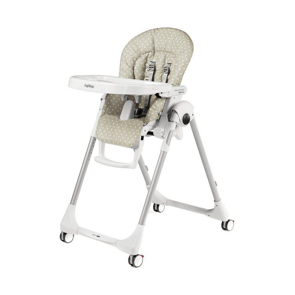 peg perego hochstuhl prima pappa follow me babydot beige. Black Bedroom Furniture Sets. Home Design Ideas