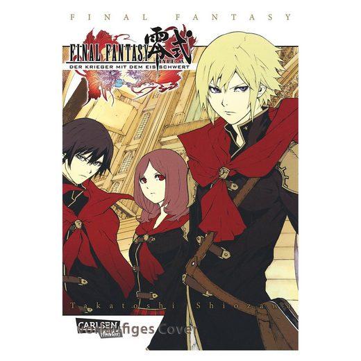 Carlsen Verlag Final Fantasy - Type-0 - Der Manga zum Game