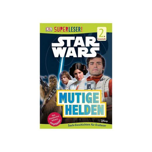 Dorling Kindersley Verlag SUPERLESER! Star Wars Mutige Helden