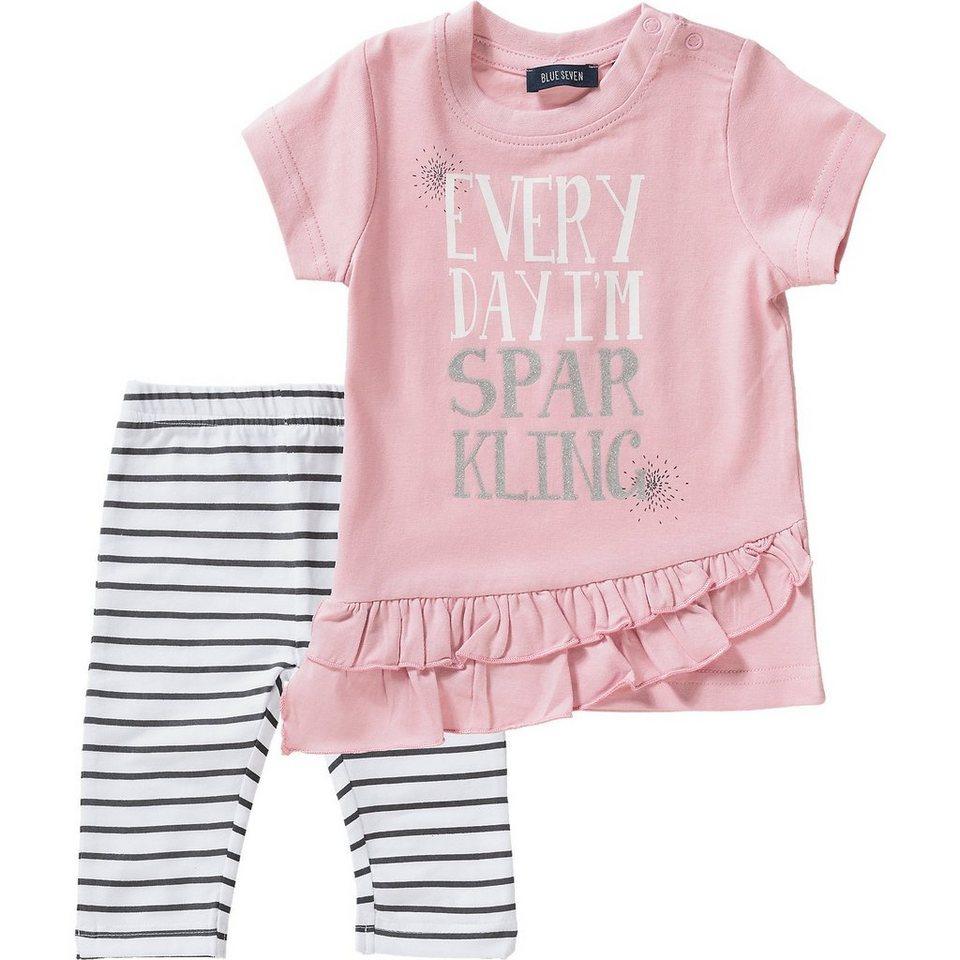 2deeeff1811266 Blue Seven Baby Set T-Shirt + Caprileggings für Mädchen