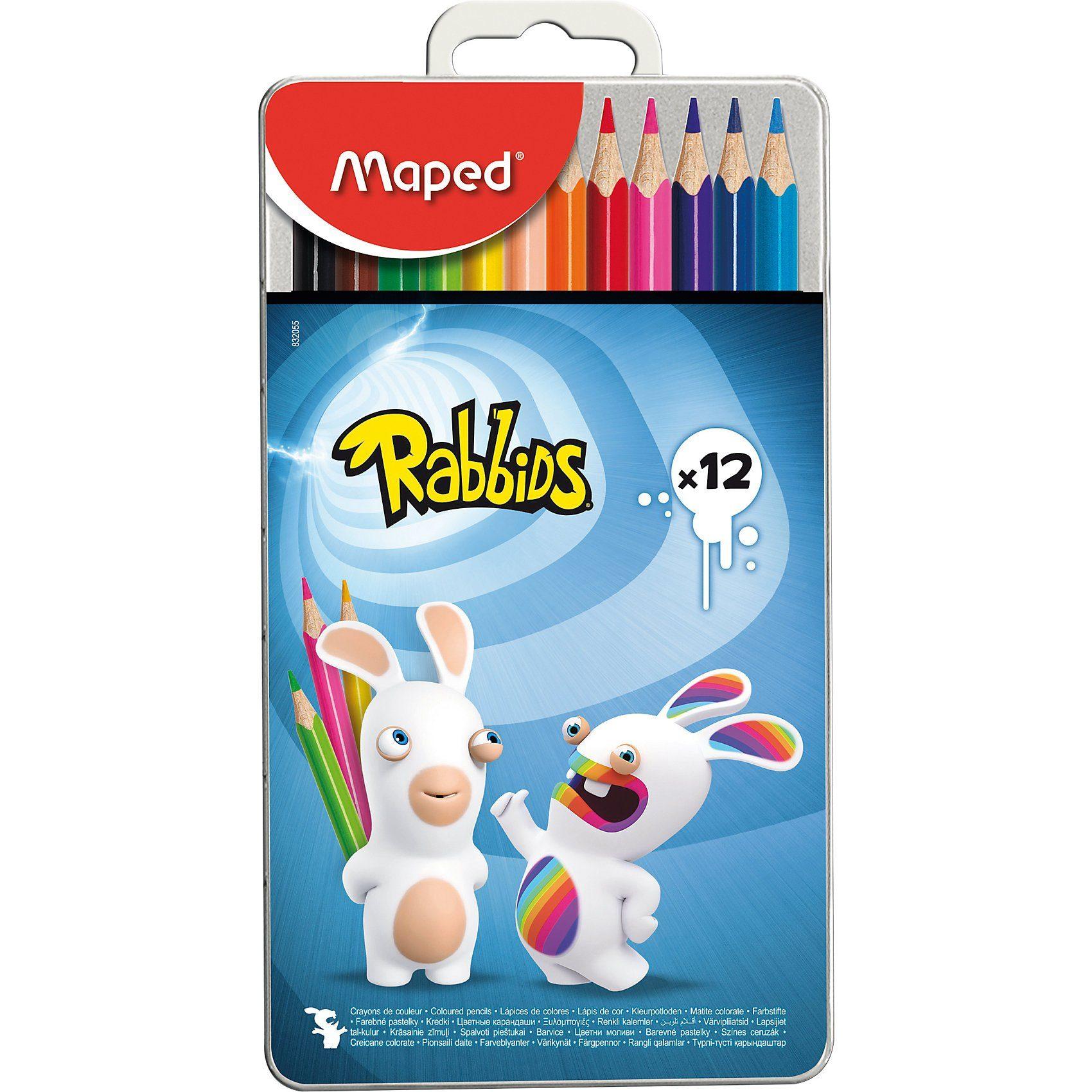 MAPED Rabbids Buntstifte Color Peps Tattoo