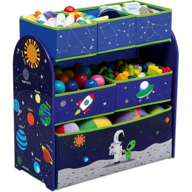 Küchenregale - DELTA CHILDREN 6 Boxen Regal, Astronaut  - Onlineshop OTTO