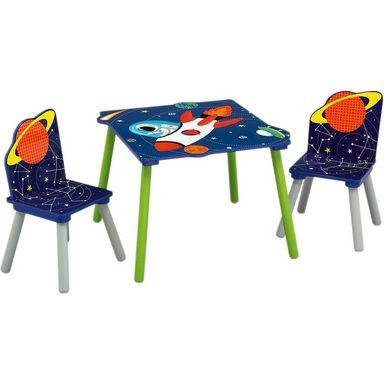 DELTA CHILDREN Kindersitzgruppe, 3-tlg., Astronaut