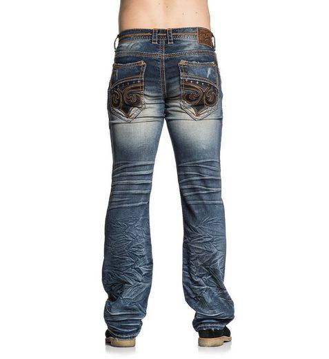 AFFLICTION Jeans im angesagten Used-Look