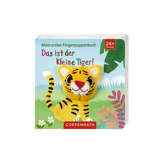 Coppenrath Mein erstes Fingerpuppenbuch: Das ist der kleine Tiger!, mit