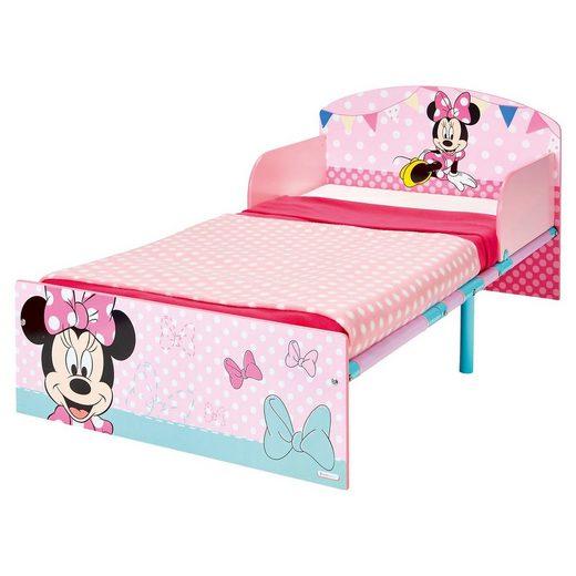 WORLDS APART Kinderbett, Minnie Mouse, 70 x 140 cm