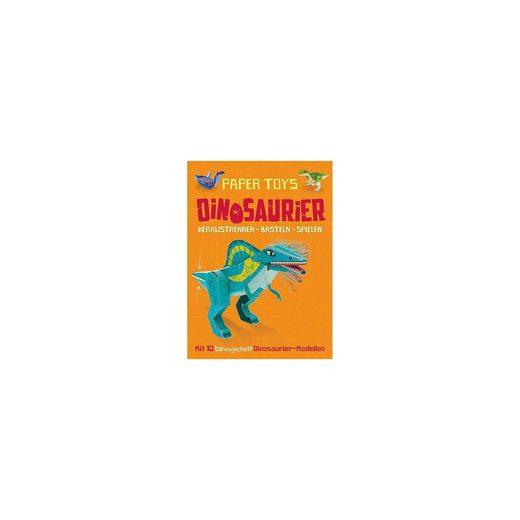 PANINI VERLAG Papertoys: Dinosaurier