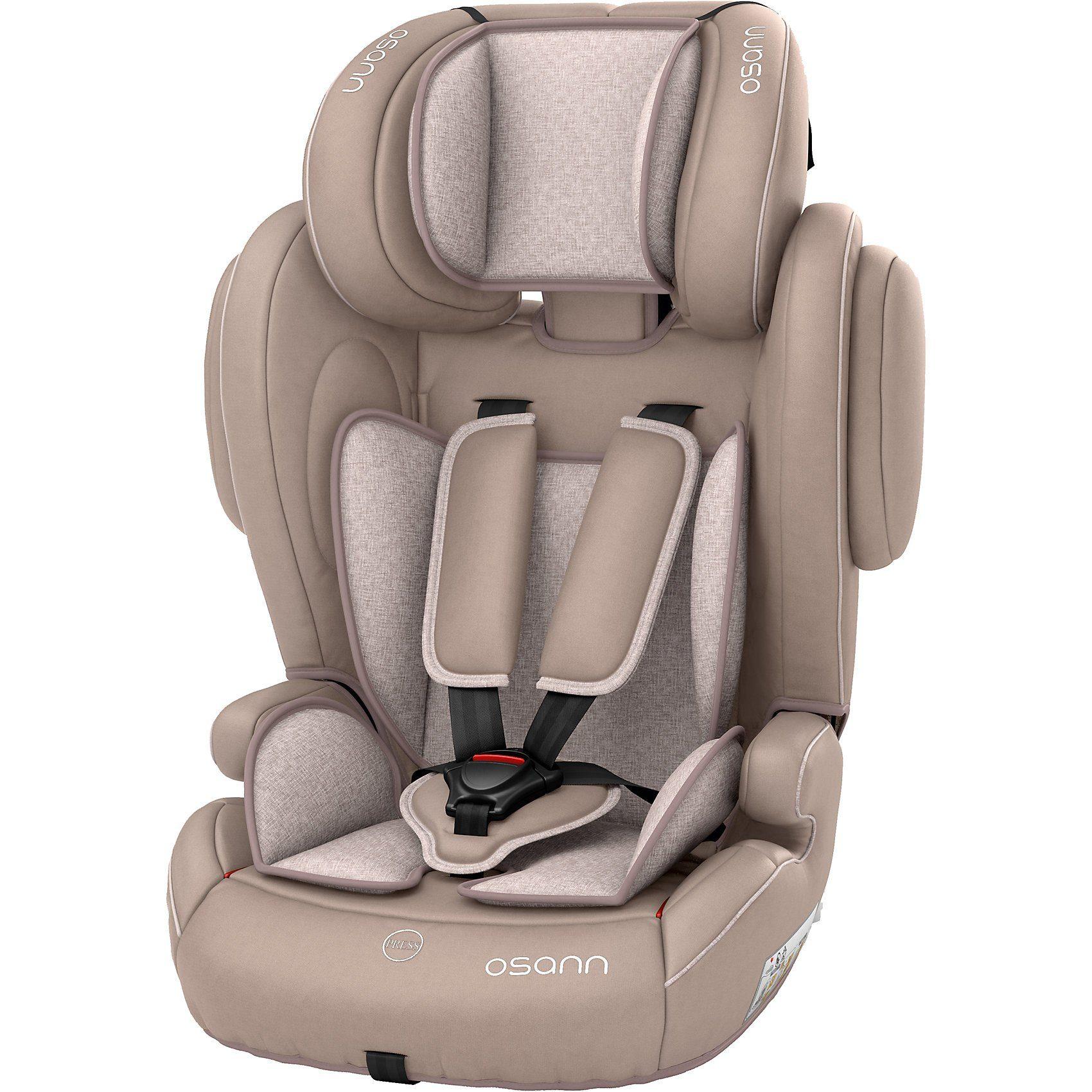 Osann Auto-Kindersitz Flux Plus, Beige Melange, 2018